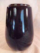 Early Antique Very Dark Ruby Red Railroad Lantern Glass Globe