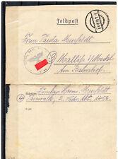III. Reich, Feldpost, Brief, späte Post, 2.4.1945 ?, mit Inhalt !