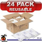 24 Pack - Nordic Ice Reusable 24 oz Refrigerant Gel Freezer Travel Cold Pack