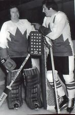 TONY ESPOSITO GOALIE &   PHIL ESPOSITO TEAM CANADA 1972  ACTION  PHOTO 8X10