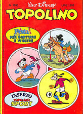 [709] TOPOLINO ed. Mondadori 1986 n.  1593 stato Edicola
