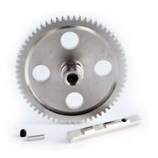 Metal 0015 Center Reduction Gear 62T Silver Fit RC WLtoys 1:12 Climbing Car