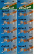 Eunicell set of 20 alkaline batteries AG7 G7 LR927,395 1.55V