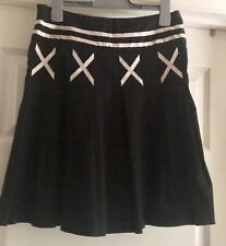 JEANSWEST Ladies Pleated A Line Skirt Size 8 EC