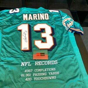 Dan Marino Signed Authentic Miami Dolphins Game Model Jersey UDA Upper Deck COA