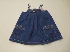 Pumpkin Patch Girls Size 4 Blue Denim Dress Great Condition