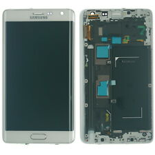 Samsung Galaxy Note Edge SM- N915 N915FY Display LCD Touch Screen Glas weiß
