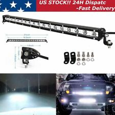 "20"" 54W LED WORK LIGHT BAR SPOT SINGLE ROW DRIVING LAMP OFFROAD UTE ATV SUV JEEP"