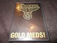 LN DVD BMX GOLD MEDS ! SOURCE Mark Tanner Caleb Kilby Wildcat Carl King THE FIDS