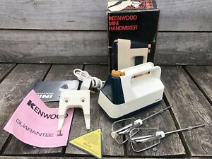 1960s Vintage Retro Kenwood A345 Mini Hand Held Mixer Whisk - 3 Speed Boxed