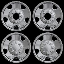"2005-07 Ford F250 F350 4x4 17"" Chrome Wheel Skins 8 Lug Full Rim Covers Hub Caps"