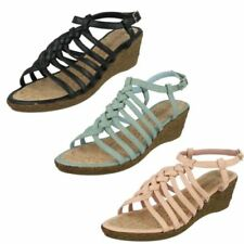 Buckle Wedge Regular Sandals & Beach Shoes for Women