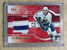 10-11 ITG H&P Heroes Prospects LARS ELLER National Pride Emblem Gold 1/1