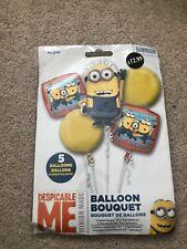 New Anagram Despicable me balloon bouquet (5 balloons)