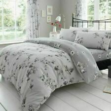 Gaveno Cavailia Bed Set with Duvet Cover and Pillow Case - Grey, King Size