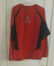 Nike NC State WolfPack Softball Fleece Embroidered Pullover Shirt size Med