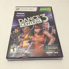 Dance Central 3 Microsoft XBOX 360 PART THREE KINECT Sealed Brand New Harmonix