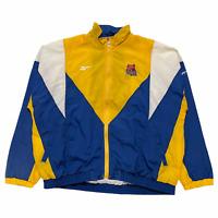 Size XL - 90s Reebok UCLA Bruins College Windbreaker Track Jacket Blue VTG