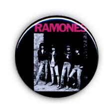 Badge RAMONES groupe Punk rock culte années 80 cbgb pop vintage retro pins Ø25mm