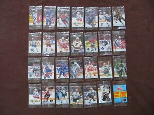 1992-93 Humpty Dumpty Hockey Cello Packs Lot of 28 Differents Series 1 & 2