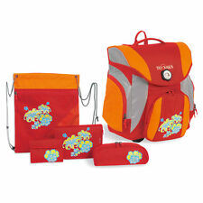 Tatonka School Pack Plus Schulranzen Set Hibiscus