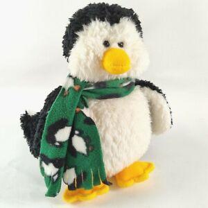 "Gund Penguin Chilly Plush12"" Christmas Holiday Fleece Scarf Stuffed Animal 88013"