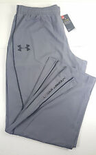 NWT UNDER ARMOUR MEN HG STORM GRAY WARMUP WOVEN WINDBREAKER PANTS SZ LG LARGE