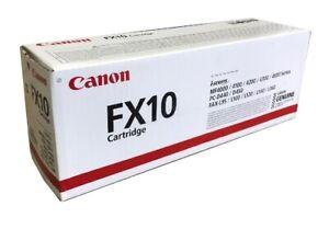 Neu Canon FX 10 0263 B 002 Toner schwarz A