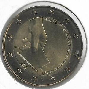 MALTE 2 Euro Commémorative Premières Elections 2011 UNC