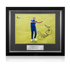 More details for ian poulter signed ryder cup photo: 18th hole celebration. deluxe frame