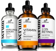 Vitamin C Hyaluronic Acid & Retinol Anti Aging Oil Serum Set For Healthy Skin