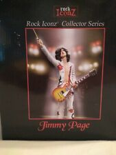 Led Zeppelin Collectible 2007 KnuckleBonz Rock Iconz Jimmy Page Statue (Figure)