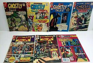 Lot of 7 Horror Comics Charlton Comics1966-up VG+ to FN+