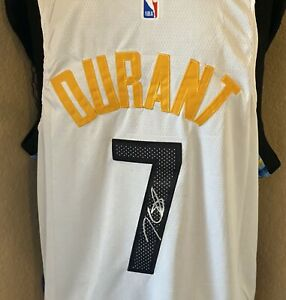 Kevin Durant Signed Brooklyn Nets Nike NBA Jersey with COA