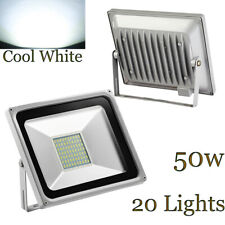 New listing [20-Pack] 50W Led Flood Light Outdoor Garden Yard Landscape Lamp Cool White Us