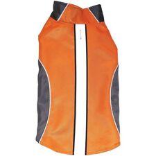 Royal Animals Water-Resistant Dog Raincoat W/ Reflective Stripes, Orange