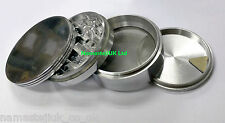 80mm Extra Large XXL Metal Herb Tobacco Grinder Heavy Duty Pollinator Crusher