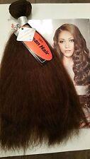 "100% REAL Virgin Human Hair Remy 14"" Weaving Natural Straight 120G #4 Dark Brown"