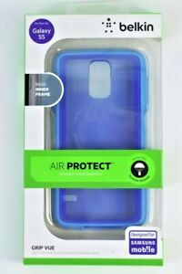 Belkin Grip Vue Mobile Phone Case for Galaxy S5, Civic Blue