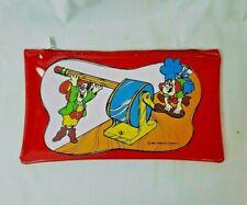 Vintage NOS 1984 Keebler Elf Pencil Case Vinyl Zipper Pencil Pouch Bag