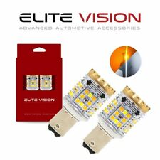 Elite Vision 1157 Switchback Led Front Rear Turn Signal Bulbs kit for Ferrari 3k