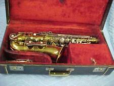 Antique York Alto Saxophone,  Very Good Ready to Play Condition.