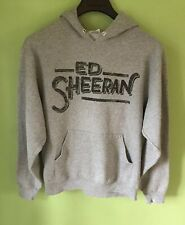 ED SHEERAN Sweatshirt Gray hooded Size M