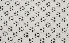 EDIBLE PATTERN RICE WAFER PAPER SOCCER FOOTBALL SPORT CAKE WRAP FRILL DECORATION