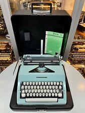 OLYMPIA COLORTIP S - 1970 - portable typewriter Schreibmaschine vintage antik