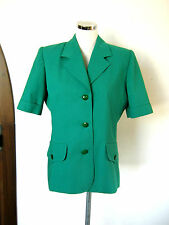 LUISA SPAGNOLI Jacket SIZE 46 SIZE L COTTON PIQUE COTTON PIQUE' EXCELLENT