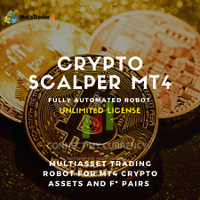 Crypto Scalper EA Fully Automated MT4 Trading System / Strategy + UNLIMITED