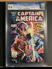 Captain America Annual #8 CGC 9.6 White Pages Wolverine Appearance NM+ App Key!!