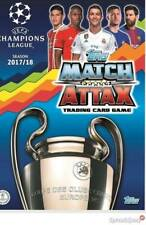 Match Attax UEFA Champions League 2017-2018. Pide Tus Faltas (Ver lista)