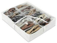 Clr Under Bed Shoe Bag, Single, PartNo 6050Bp, by Whitmor Inc